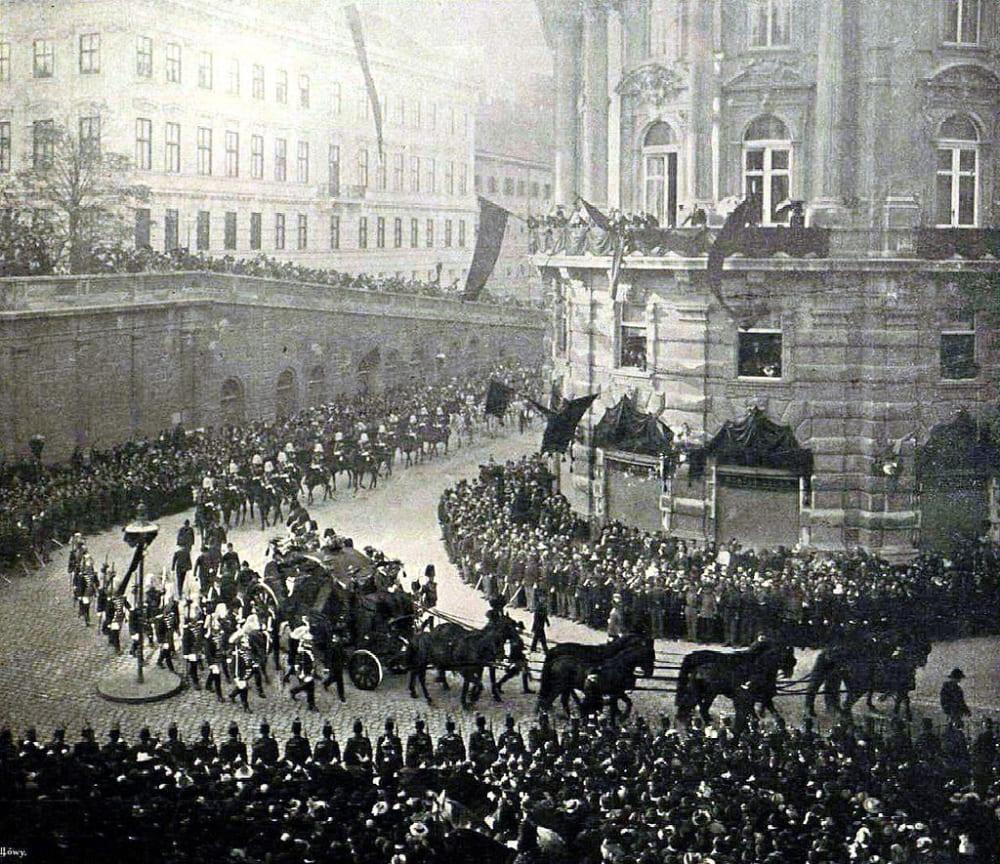 Похороны императрицы Елизаветы Австрийской
