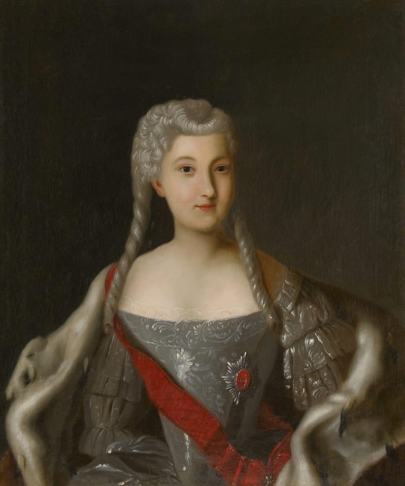 Портрет Анны Леопольдовны, герцогини Брауншвейг-Вольфенбюттельской, великой княгини и регентши России
