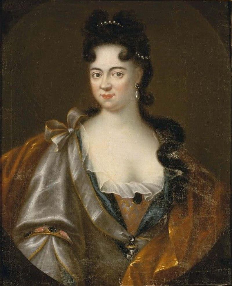 Портрет Авроры фон Кёнигсмарк, матери Морица Саксонского