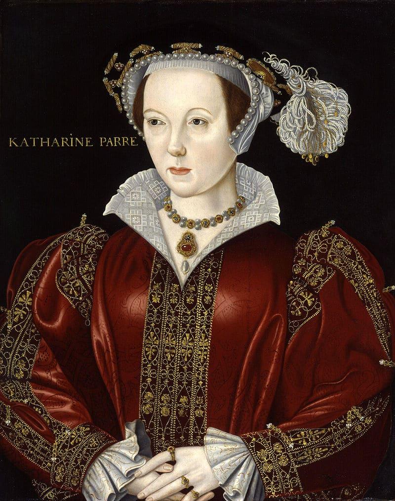 Портрет Екатерины Парр, последней жены короля Англии Генриха VIII / Национальная портретная галерея, Лондон
