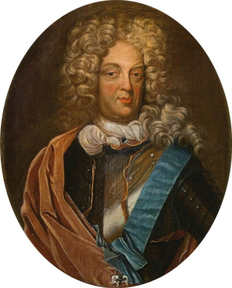 Портрет маркграфа Кристиана Эрнста Бранденбург-Байрейтского