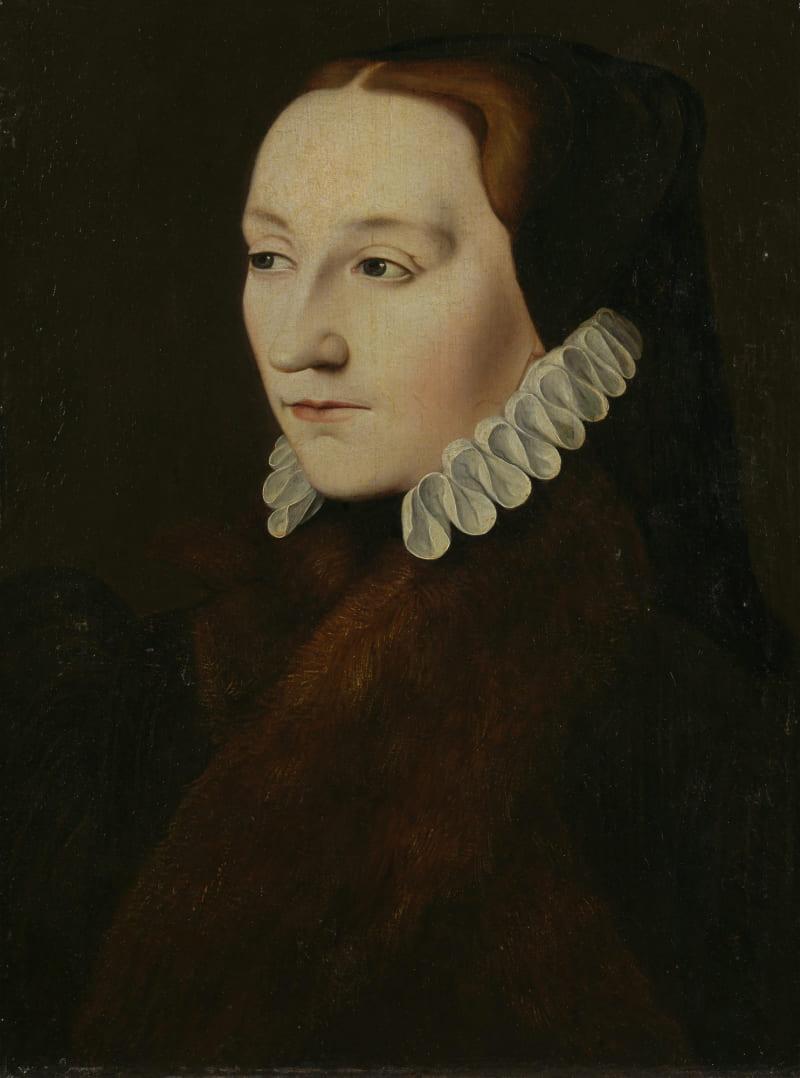 Портрет предположительно леди Фрэнсис Брэндон / Королевская коллекция, Великобритания