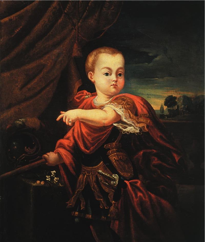 Портрет российского императора Ивана VI Антоновича / Государственный Русский музей, Санкт-Петербург
