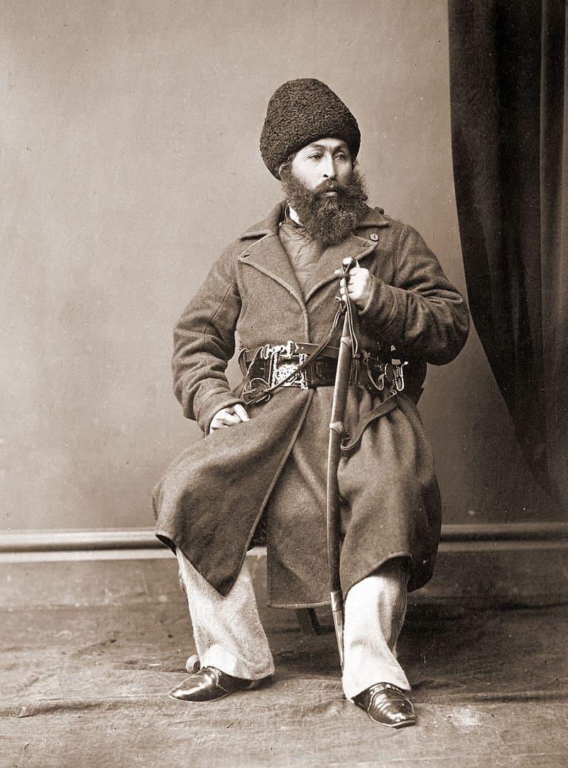 Шир-Али в 1869 году / фотограф Джон Бурк / Британская библиотека