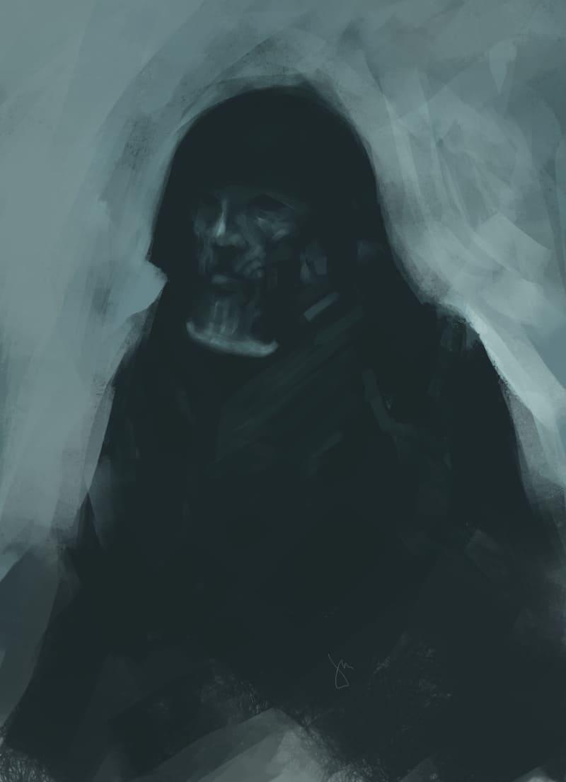 Торквемада - главный инквизитор Испании / © Michał Biskup / morbili.artstation.com