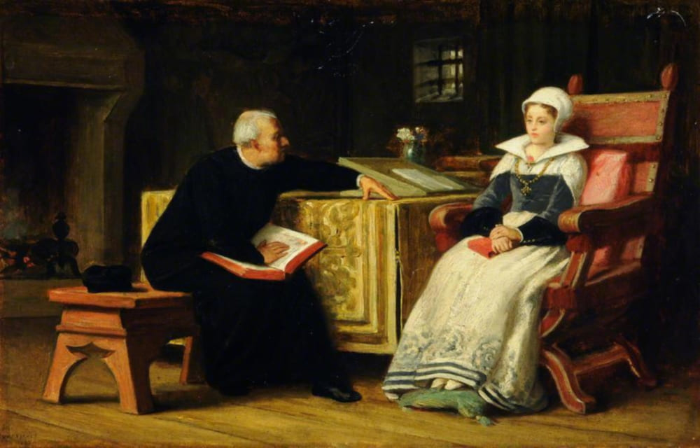 Уильям Фредерик Йимз «Леди Джейн Грей в Тауэре» / Музеи Шеффилда, Великобритания
