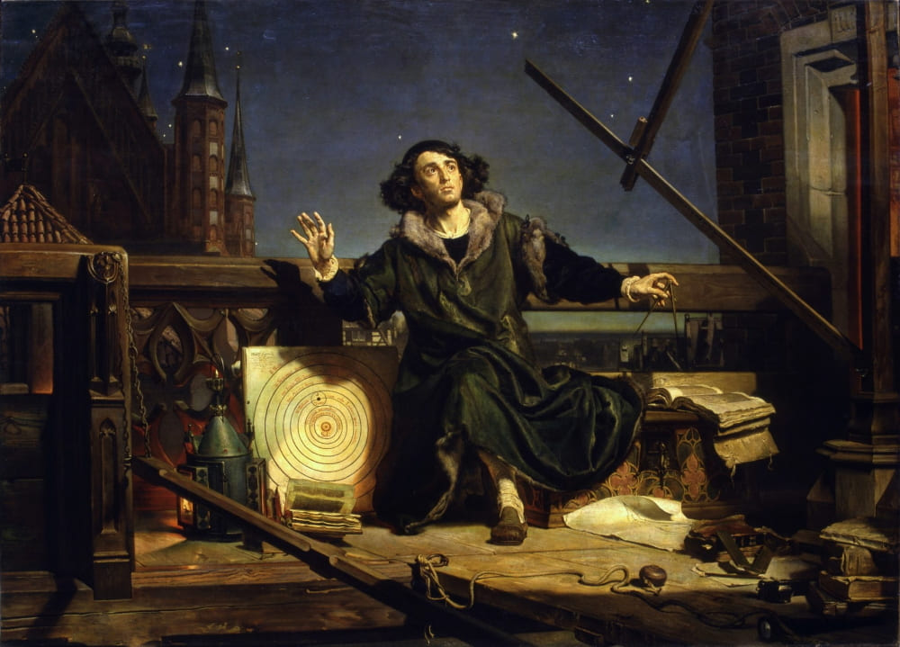 Ян Матейко «Коперник. Беседа с Богом» / Музей Ягеллонского университета, Краков, Польша