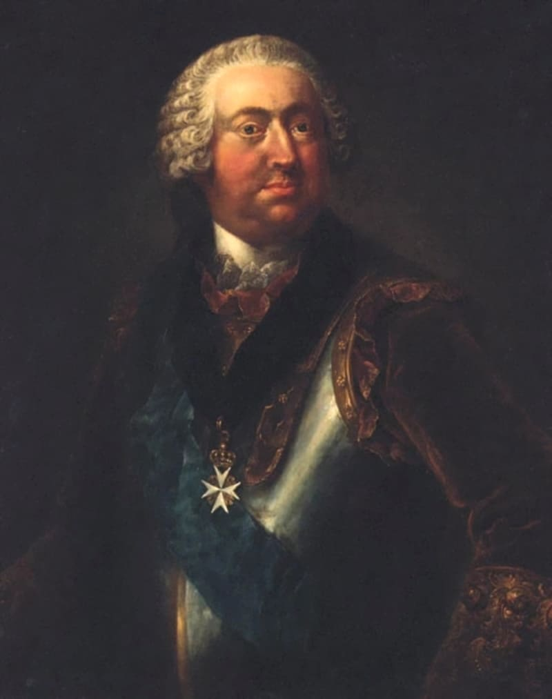 Йоханн Никлаус Гроот «Портрет графа Морица-Карла Линара»