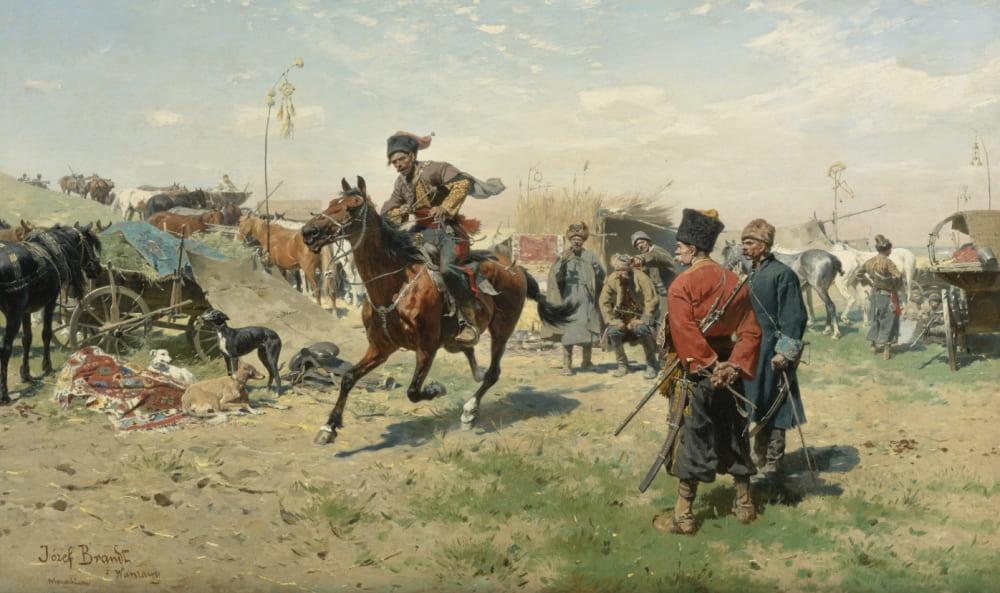 Йозеф Брандт «Запорожские казаки»