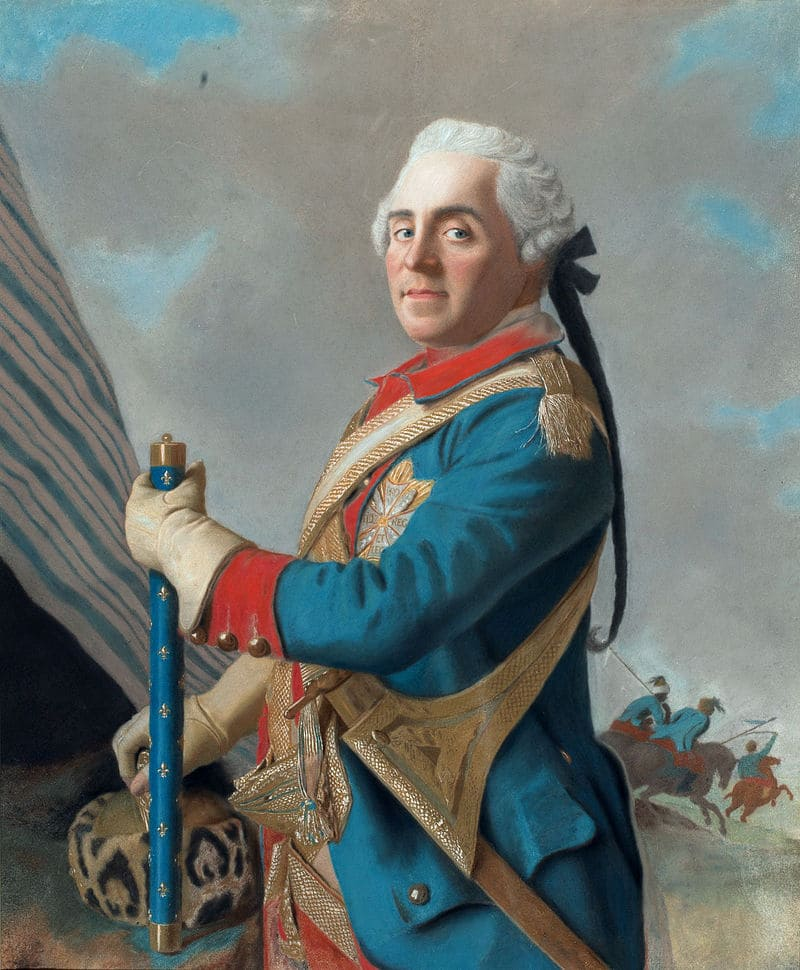 Жан Этьен Лиотар «Портрет графа Морица Саксонского» / Рейксмюсеум, Нидерланды