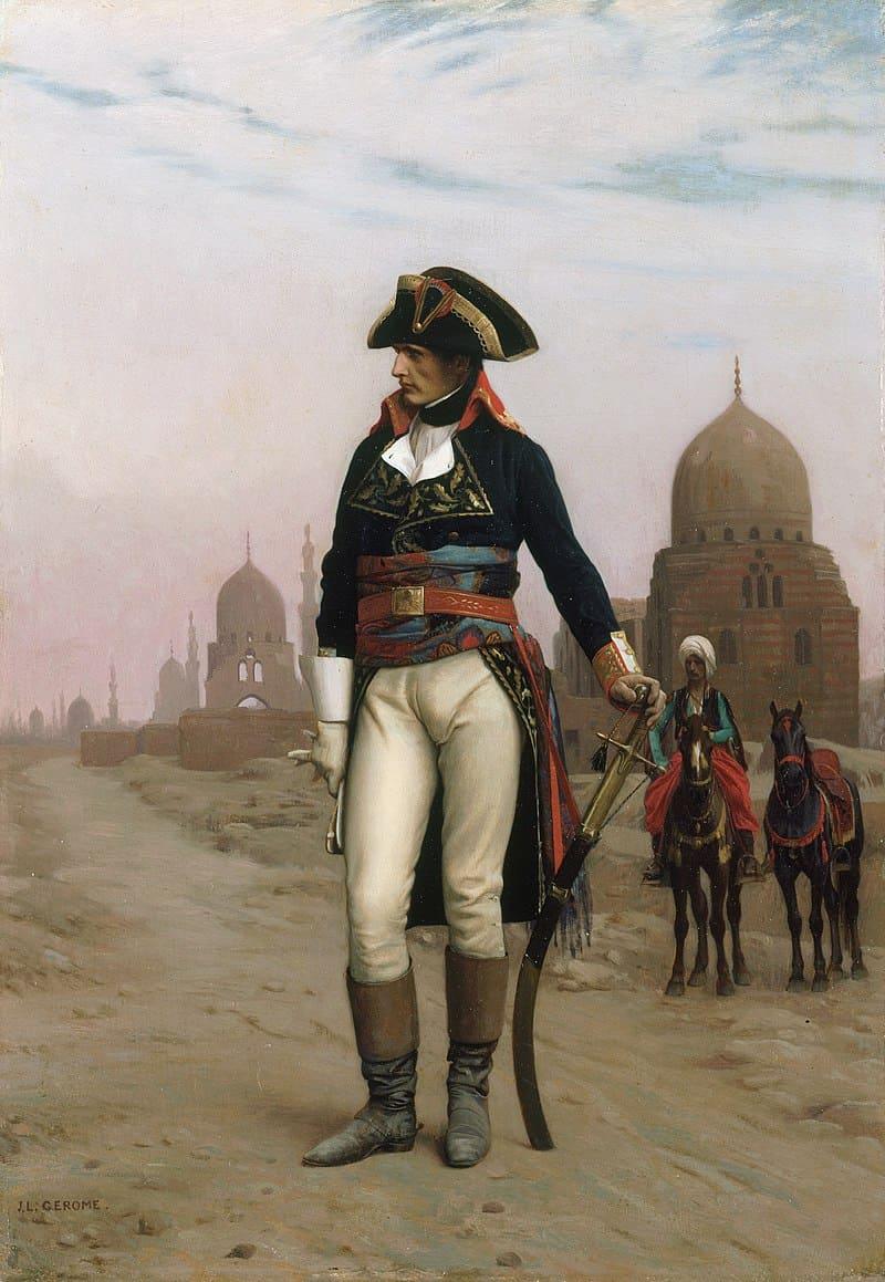 Жан-Леон Жером «Генерал Бонапарт в Каире» / Музей Искусств Принстонского Университета, США