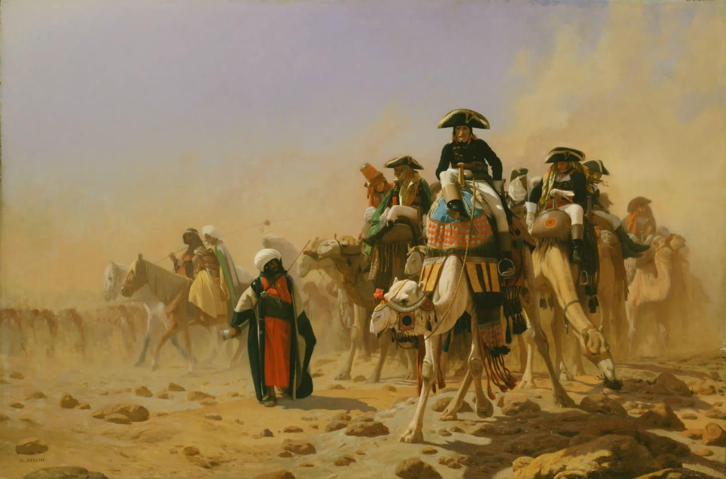 Жан-Леон Жером «Бонапарт в Египте» / Эрмитаж, Санкт-Петербург