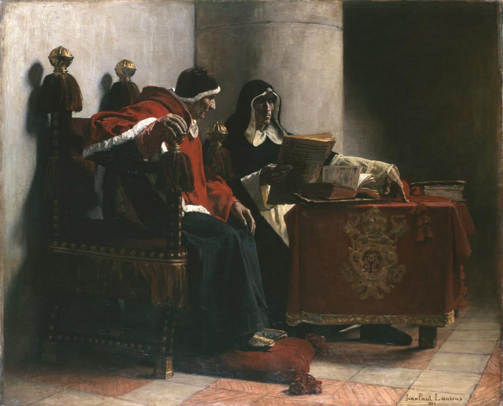 Жан Поль Лоран «Папа Римский и инквизитор» / Музей изящных искусств Бордо, Франция