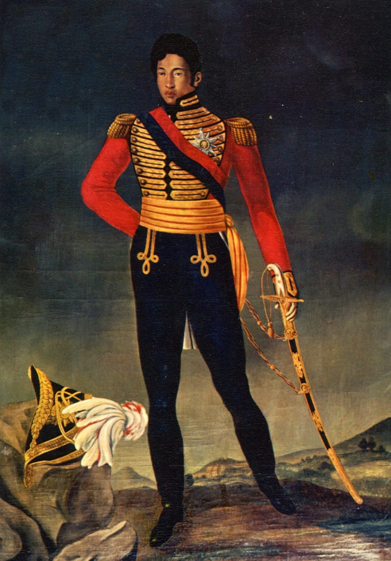 Philippe-Auguste Ramanankirahina «Портрет Радамы I»