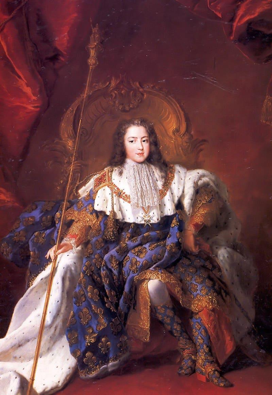 Алексис-Симон Белль «Портрет Людовика XV в подростковом возрасте» / Версаль, Франция
