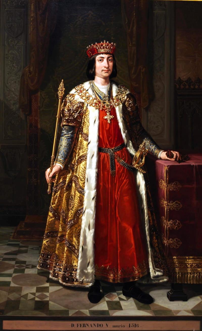 Бернардино Монтанес «Портрет Фердинанда II Арагонского» / Музей Прадо, Испания