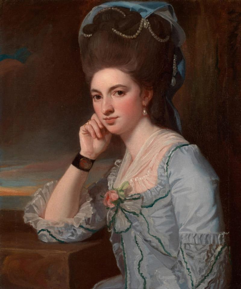 Джордж Ромни «Портрет молодой женщины» (не является портретом княжны Таракановой)