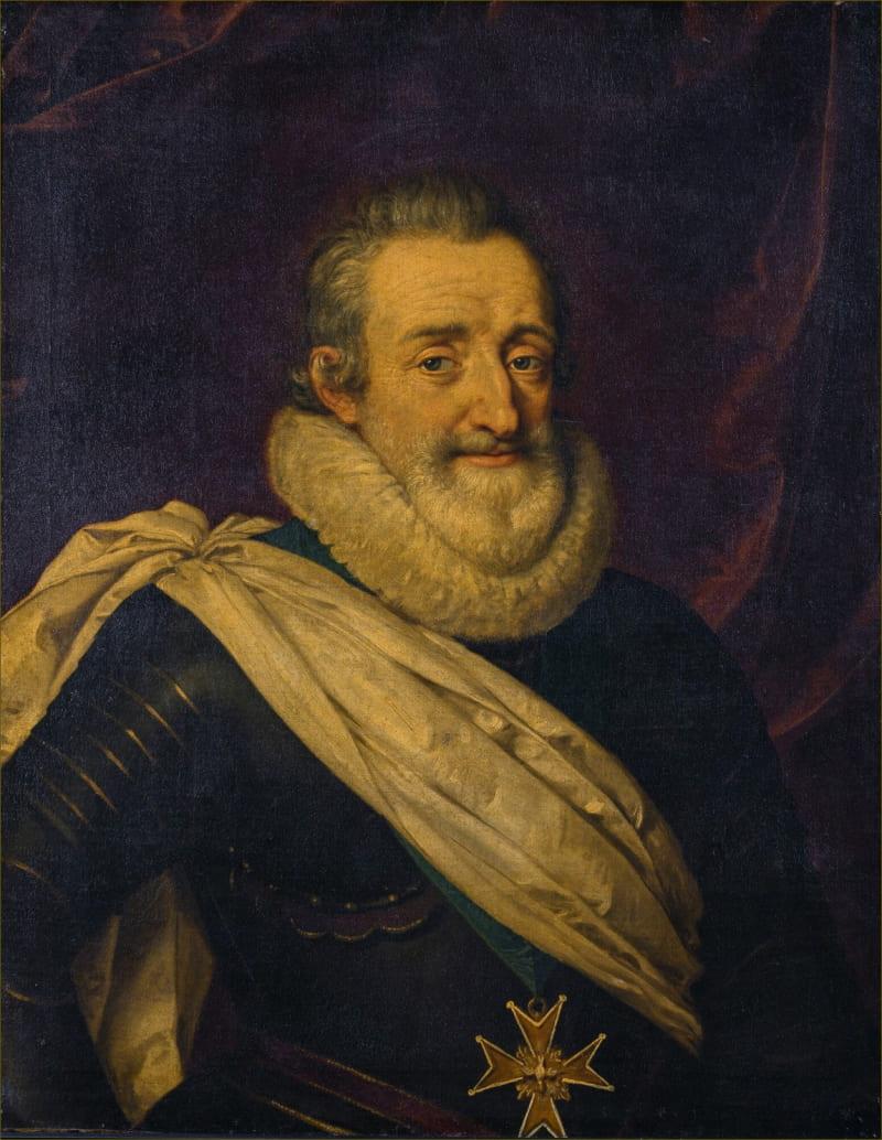 Франс Пурбус Младший «Портрет короля Франции Генриха IV» / Версаль, Франция