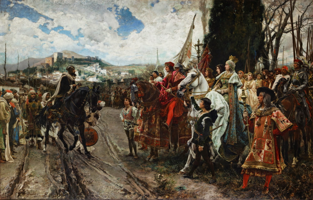 Франсиско Прадилья «Капитуляция Гранады» / Сенатский дворец в Испании