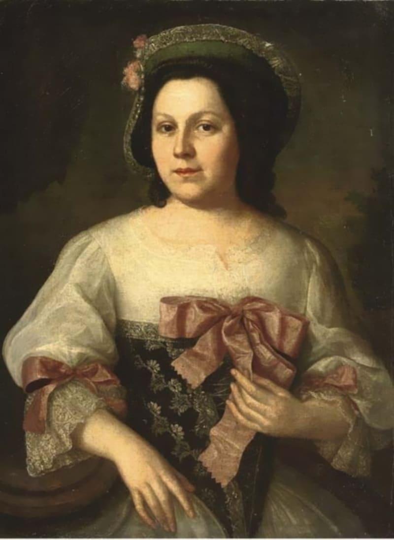 Франц Липпольд «Дама в шляпе» (не является портретом Натальи Лопухиной)