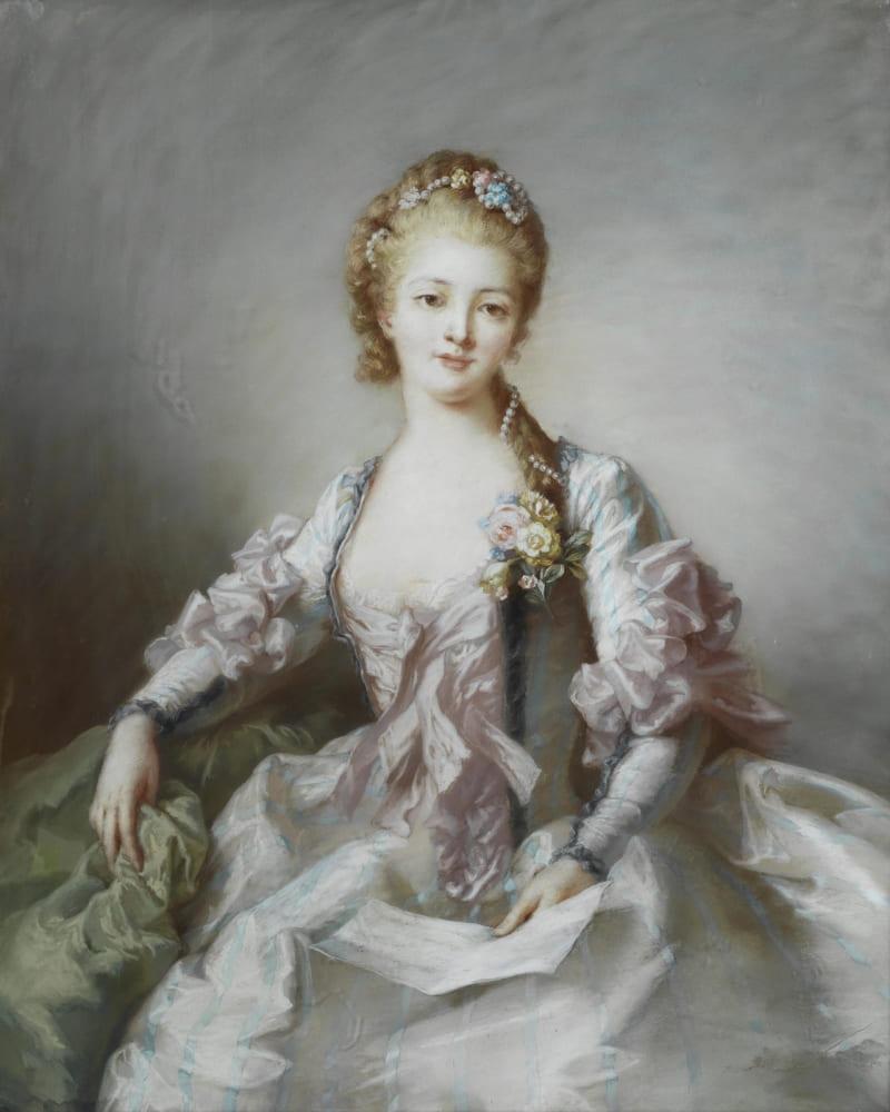 Французская школа «Портрет дамы с письмом» (не является портретом княжны Таракановой)