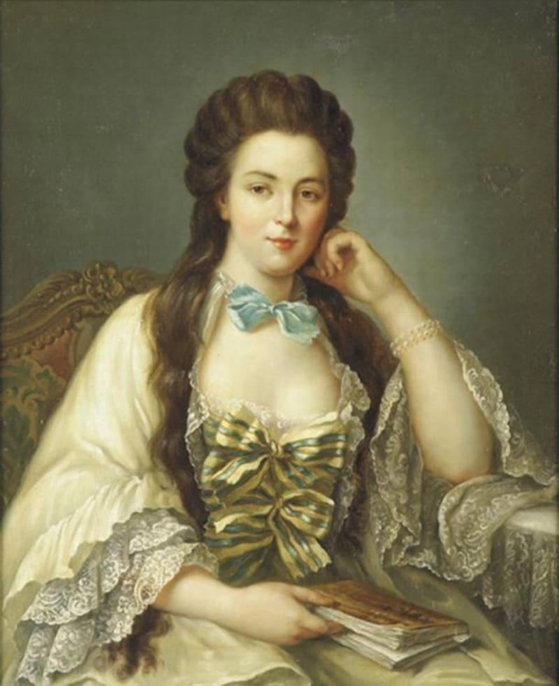 Гийом Войрио «Портрет леди в белом платье» (не является портретом княжны Таракановой)