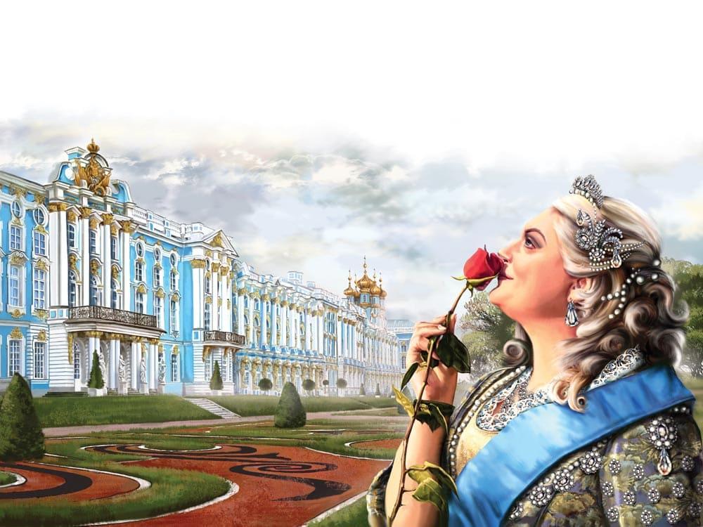 Императрица Елизавета Петровна в Царском Селе / © Елена Доведова