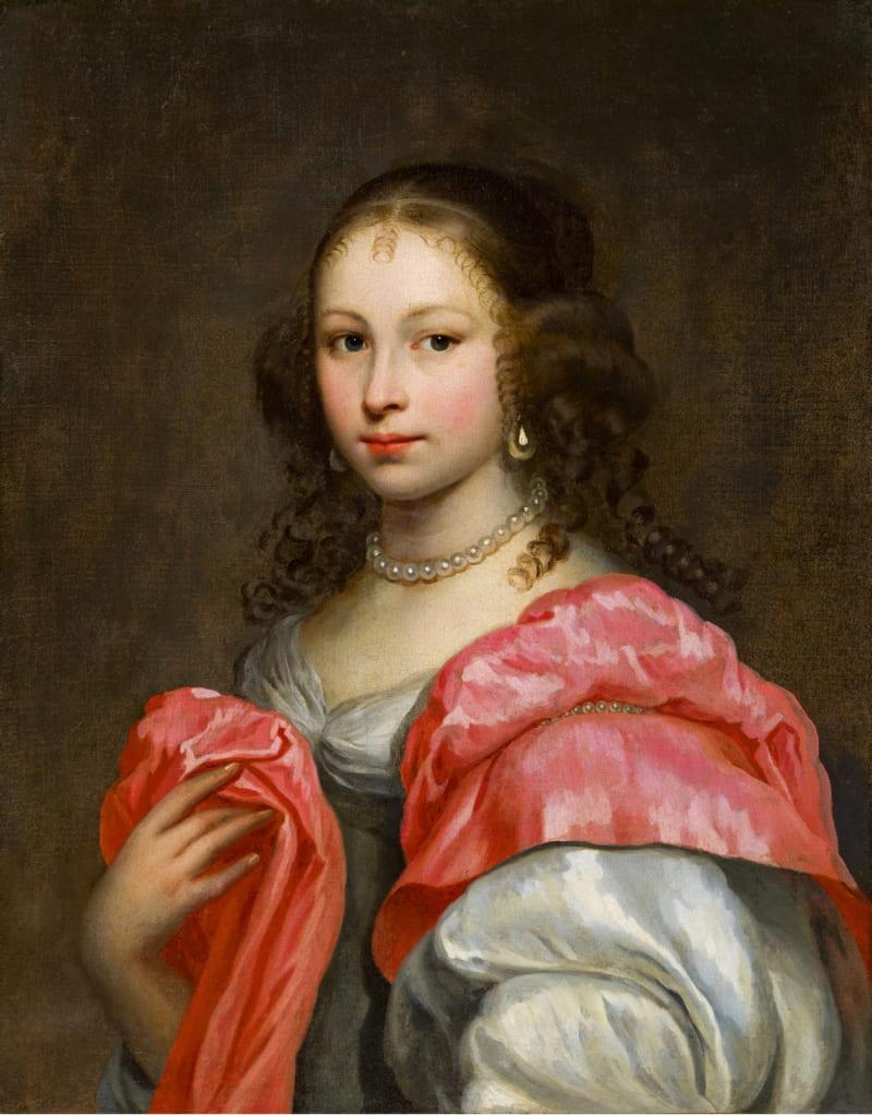 Неизвестный художник «Портрет дамы с жемчужным ожерельем» (не является портретом княжны Таракановой)
