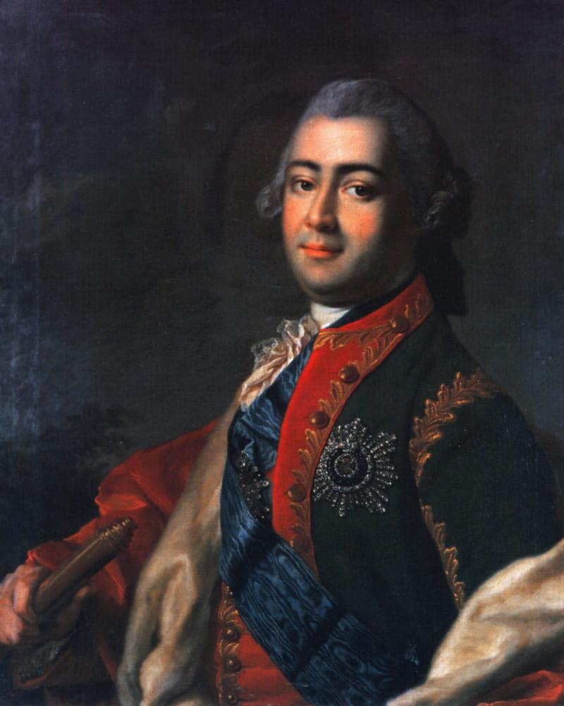 Портрет Алексея Григорьевича Разумовского