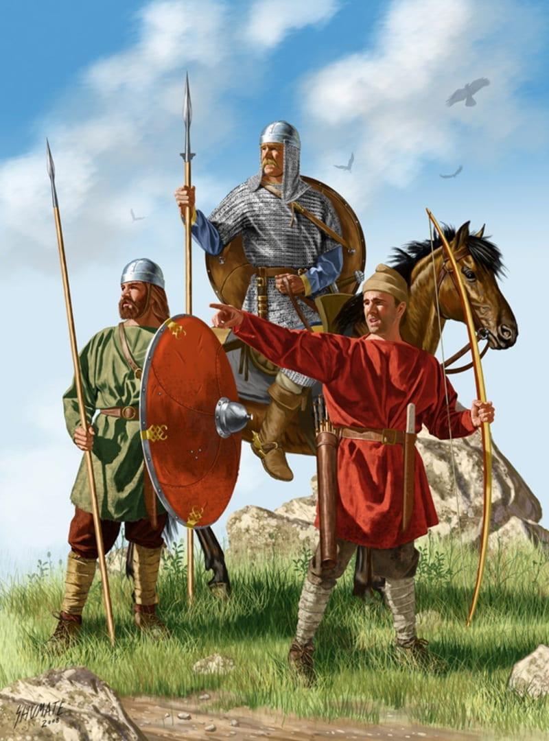 Воины Карла Великого / © Shumate
