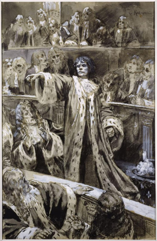 Жорж Рошгросс «Гвинплен в палате лордов»