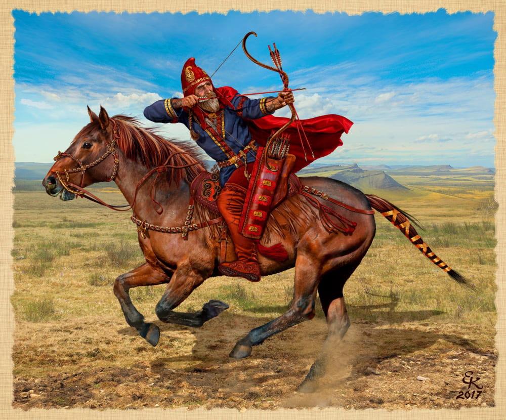 Евгений Край «Знатный скифский воин Южная Сибирь VII - VI век до н.э.»